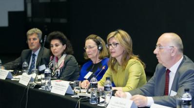 Екатерина Захариева откри конференция за икономическата и социална кохезия на Западните Балкани (сни