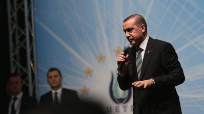 Ердоган призова турската общественост за участие в протестите срещу Израел
