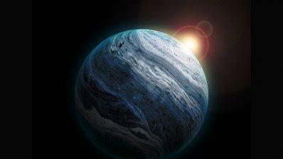 Луната Европа на Юпитер изглежда изпуска водни струи (видео)