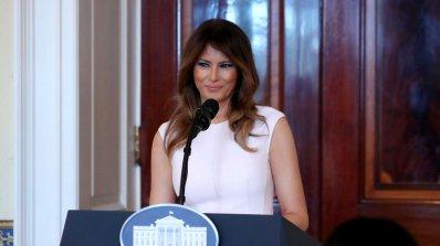 Мелания Тръмп се върна в Белия дом