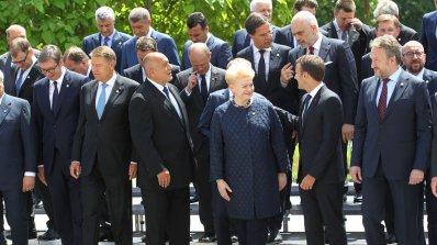 Приключи историческата Среща на върха! Ето какво гласи Декларацията от София (обновена+снимки+видео)