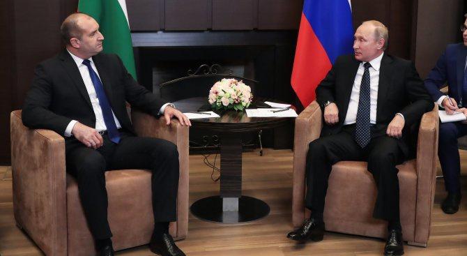 Политик: Румен Радев изигра ролята на вестоносец на Русия (видео)