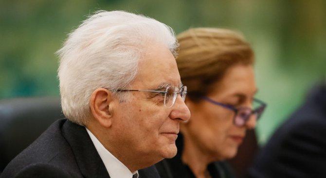 Италианският президент започна консултации за предложената управляваща коалиция