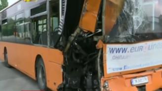 """Повдигнаха обвинение на шофьора на ТИР-а, ударил автобус на """"Тракия"""""""