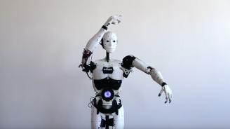 Френски скулптор представи робот, който е създал с помощта на  3D принтер