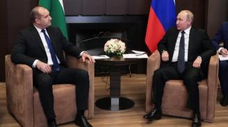 Политик: Румен Радев изигра ролята на вестоносец на Русия