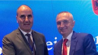 Цветан Цветанов се срещна с президента на Албания