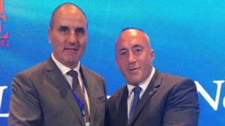 Цветан Цветанов проведе работна среща с Рамуш Харадинай