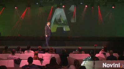Мтел става А1 (снимки+видео)