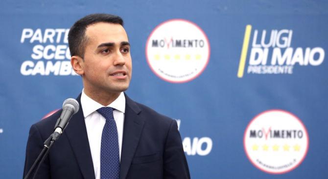 """Лидерът на Движение """"Пет звезди"""" поиска импийчмънт за италианския президент"""