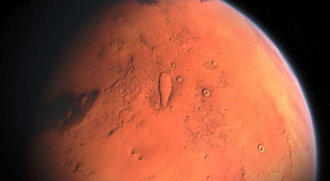 """Марсоходът """"Кюриосити"""" взе проба от скала"""