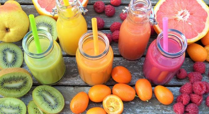 Плодовите сокове на закуска предразполагат децата към напълняване