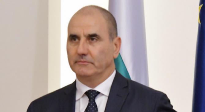 Цветан Цветанов проведе работна среща със зам.-председателя на сръбския парламент Владимир Маринкович