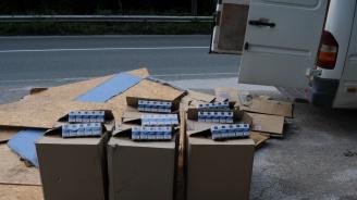80 000 къса контрабандни цигари хванаха при спецакция (снимка)