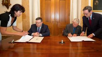 Главните прокурори на България и Унгария подписаха споразумение за сътрудничество