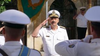 Румънски вицеадмирал пристигна във Варна (снимки)