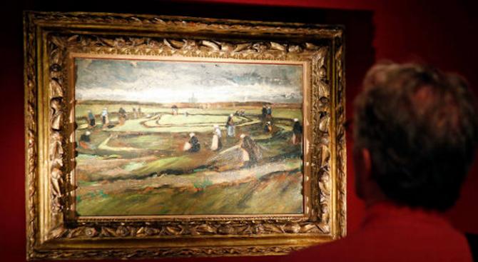 Картина на Ван Гог бе продадена на търг в Париж за над 7 милиона евро