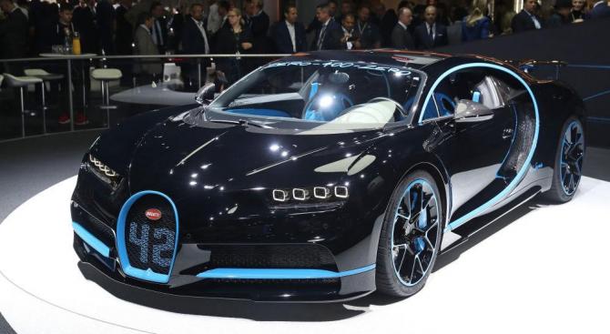 Вижте малките детайли, които правят Bugatti Chiron толкова бърз (видео)