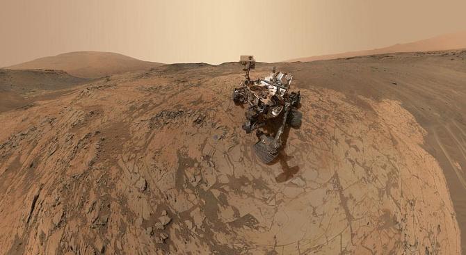Откриха органични молекули на Марс, може да е знак за живот