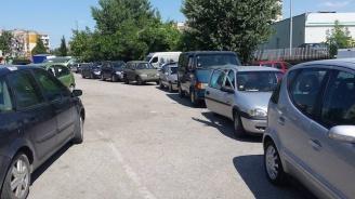 Сигнал до Novini.bg: Опашки и напрежение пред КАТ - Пазарджик (снимки)