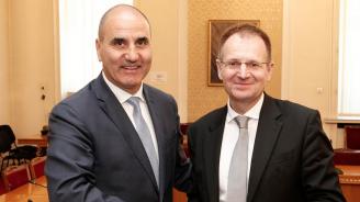 Цветан Цветанов се срещна с федералния прокурор на Германия (снимки)