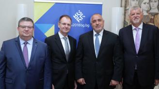 Борисов се срещна с федералния прокурор на Германия (снимки)