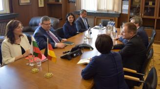 Сотир Цацаров се срещна с германския си колега