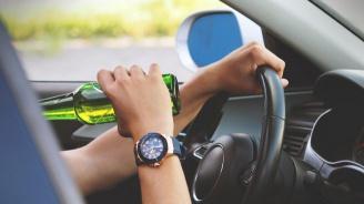 Спипаха пиян шофьор след гонка с полицията