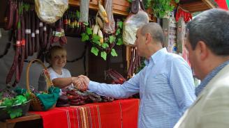 Цветан Цветанов присъства на празника на горнооряховския суджук (снимки)