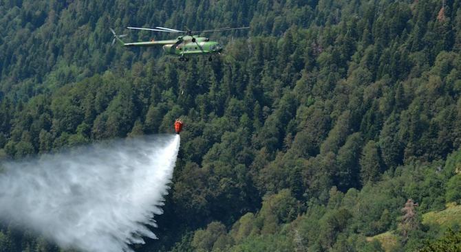 В сезона на пожарите оставаме без хеликоптер за овладяване на огъня