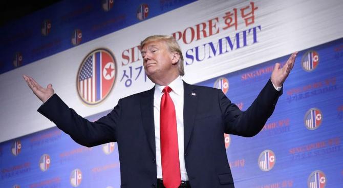 Доналд Тръмп: Армията ни няма да провежда учения на Корейския полуостров