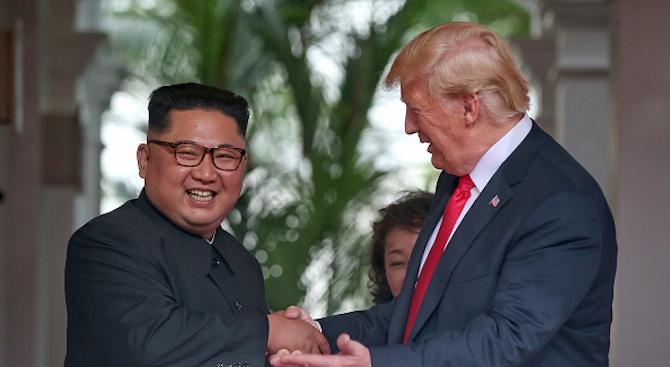 Москва определя срещата между Тръмп и Ким като положително събитие