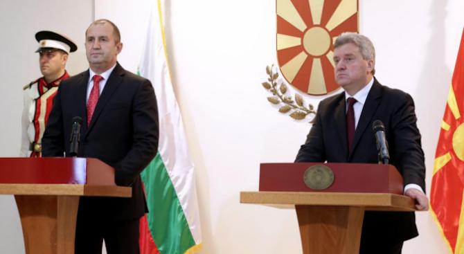 Македонският президент идва у нас