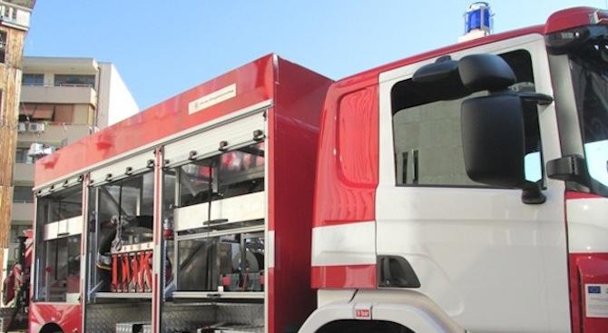 Теч на газ от бензиностанция вдигна на крак пожарната в Хасково