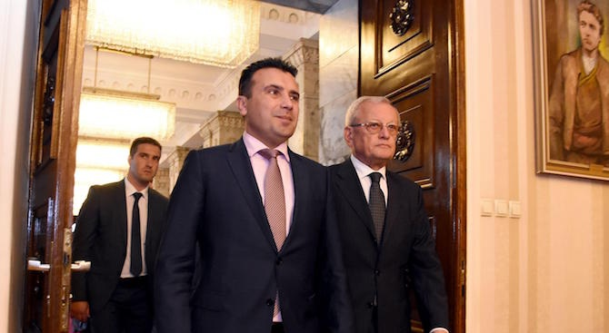 Зоран Заев иска референдум за името на Македония