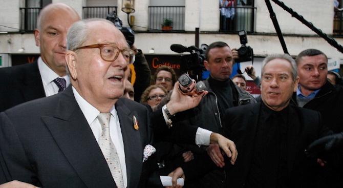 Жан-Мари Льо Пен беше приет в болница, процесът срещу него е отложен