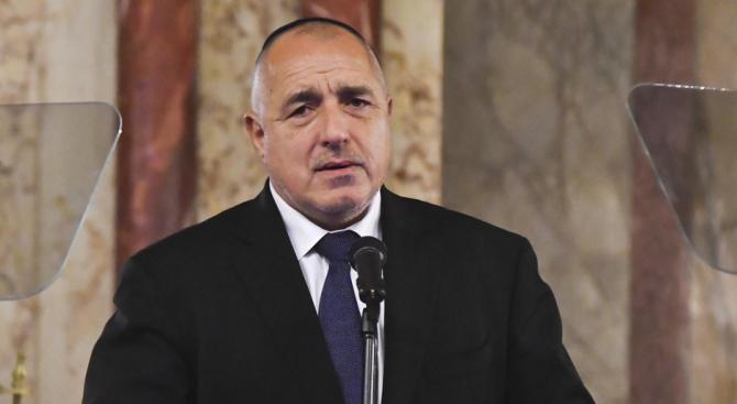 Бойко Борисов ще се срещне днес с министър-председателя на Палестина Рами Хамдала