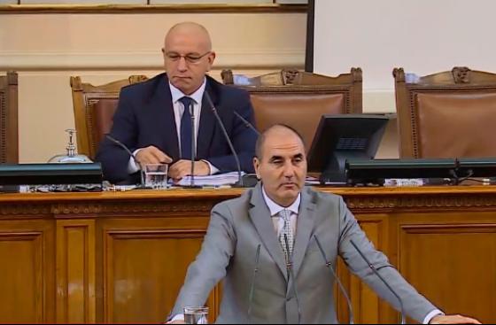 Цветан Цветанов: Важно е да се води дебат (видео)