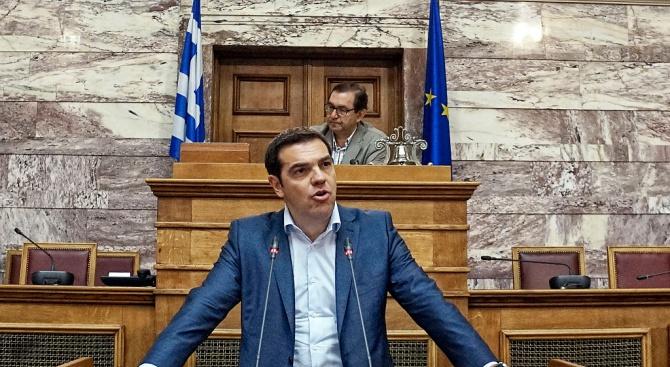 Гръцката опозиция изненада Ципрас с вот на недоверие