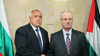 Борисов: Подкрепяме инициативите за Близкоизточния мирен процес (видео)