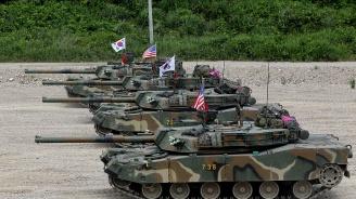 Министрите на отбраната на САЩ и Южна Корея решават за общите военни учения на лична среща