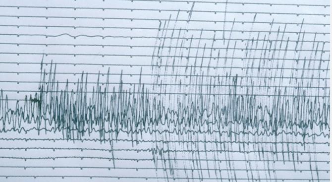 Земетресение с магнитуд 5.6 по скалата на Рихтер е регистрирано