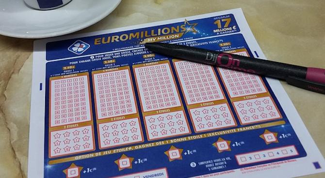 """Французин е спечелил над 36 милиона евро от лотарията """"Евромилиони"""","""