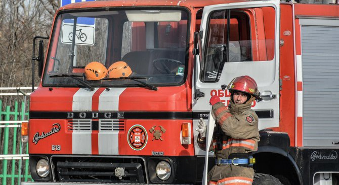 Автоморга горя в Пловдивско