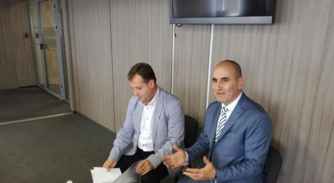 Цветанов се срещна с представители на Християндемократическия съюз от местната власт в Щутгарт (галерия)