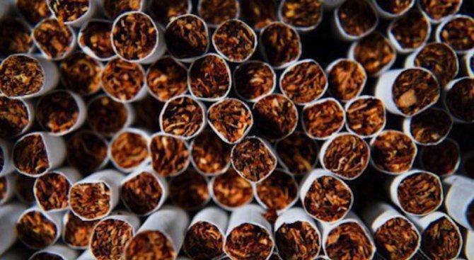 4500 къса цигари и 1,5 кг. тютюн без бандерол са