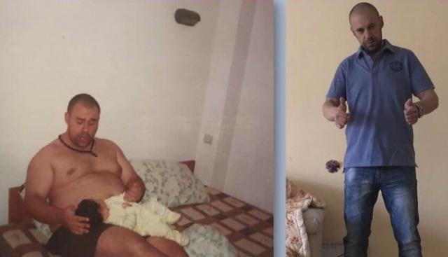 Софиянецът Атанас Узунов тежал близо 140 кг допреди две години.