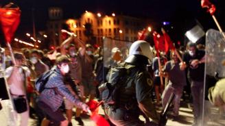 Ескалация на напрежение при протеста в Скопие против договора за новото име на страната