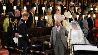 Бащата на Меган Маркъл: Завидях на принц Чарлз, че той я отведе до олтара