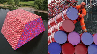 Нова инсталация на Кристо ще плува в езерото Сърпентайн в Хайд парк (снимки+видео)